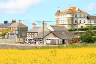 Photo of The Three Golden Cups pub at Southerndown and The Blind Home, Places to eat and go to, The Three Golden Cups Pub at Southerndown Glamorgan Wales UK